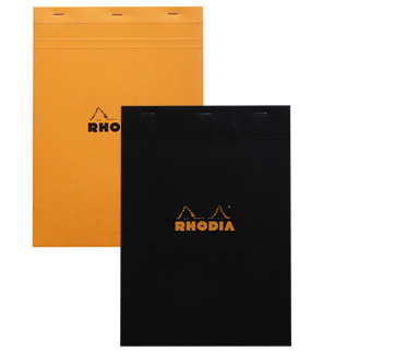 Rhodia Top-Stapled Pad N°18