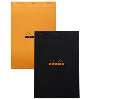 Rhodia Top-Stapled Pad N°19