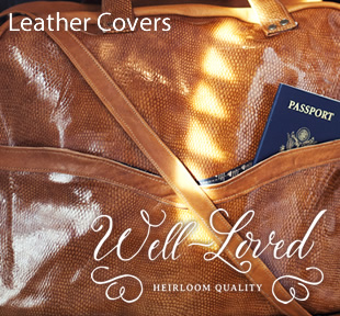 Well Loved Leather Covers