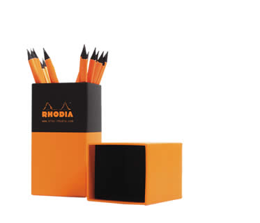 Vertical Pencil Hard Box