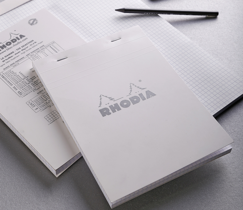 Top Stapled Rhodia Ice Pads