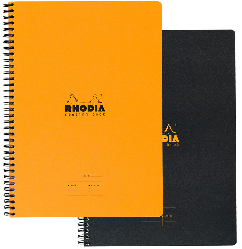 Meeting Book A4 Amp A5 Rhodia For Business Rhodia