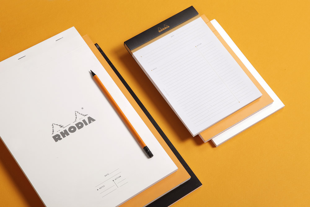 Meeting Pads - Available in Ice, Orange or Black