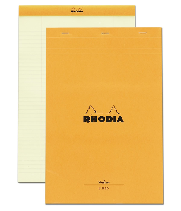 N 19 Yellow Pad Rhodia for Business – Lined Chart Paper