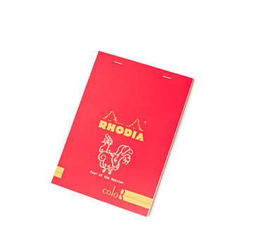 Year of the Rooster (2017) Limited Edition ColoR Notepad