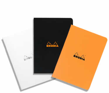 Rhodia Side-Stapled A5 Medium Size