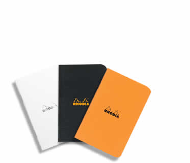 Rhodia Side-Stapled A7 Pocket Size