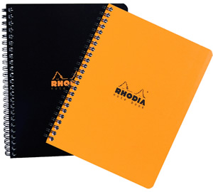 Spiral Rhodia Notebook